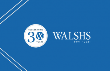 Walshs 30th anniversary brisbane financal planners